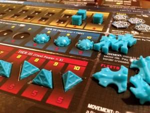 Hegemonic Player Board