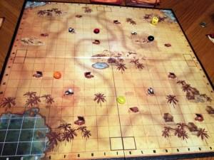 Seekers: Treasure Hunt board