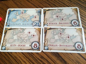 Ticket to Ride Destinations