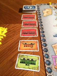 Ticket to Ride Train Cards