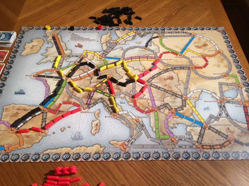 Review of Ticket to Ride Europe - RPGnet RPG Game Index