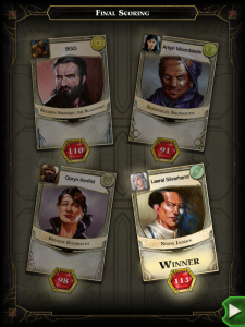 Lords of Waterdeep Winner