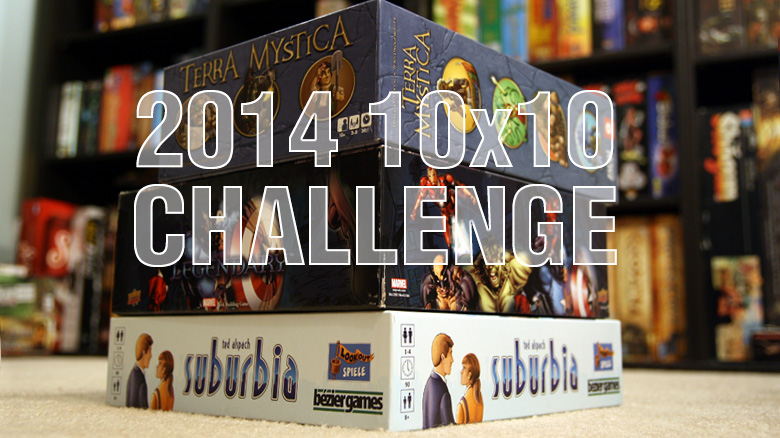 10x10 Board Game Challenge
