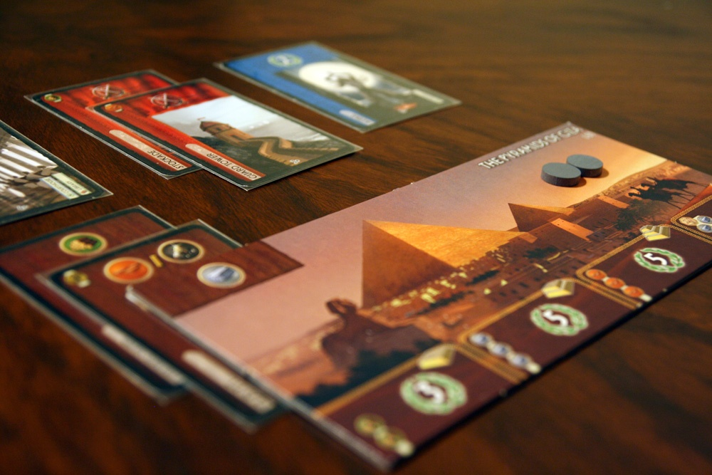 7 Wonders Player Area
