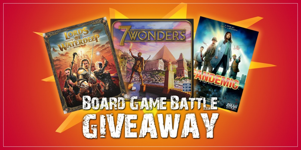 Board Game Battle Giveaway