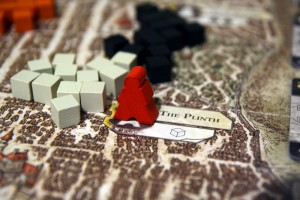 Lords of Waterdeep Action Space
