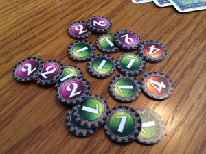 Ticket to Ride: Nederland Toll Tokens