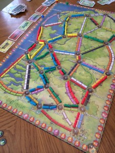 Ticket to Ride: Nederland Map
