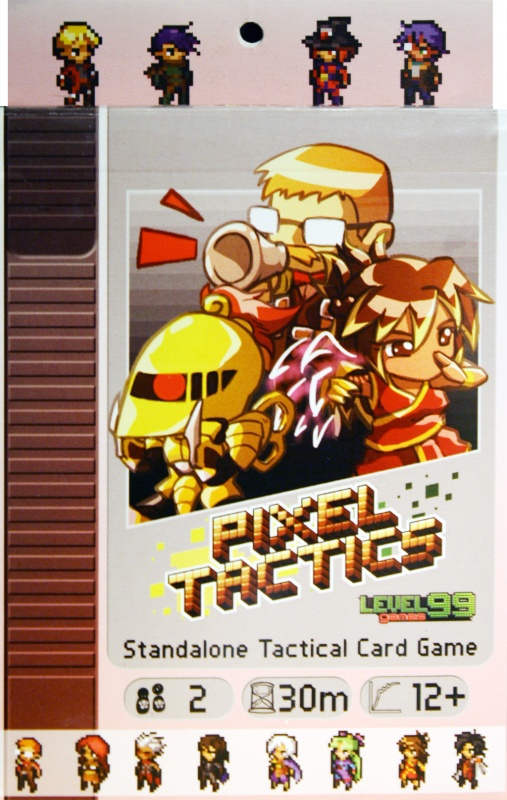 Pixel Tactics Review | Board Game Quest image