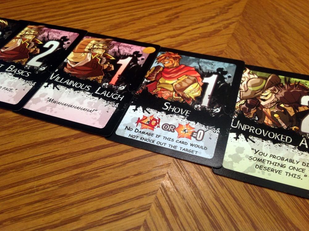 7 Card Slugfest Characters