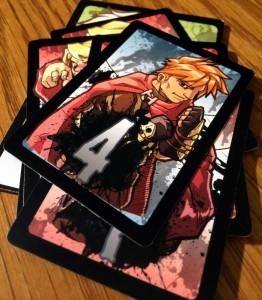 7 Card Slugfest Piles
