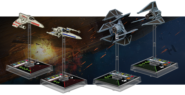X-Wing Wave 4 Ships
