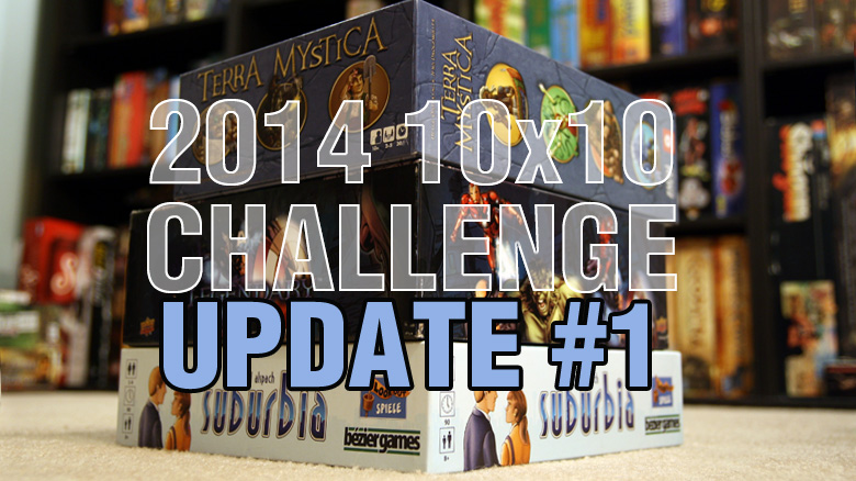10x10 Challange Update 1