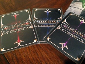 Allegiance Cards