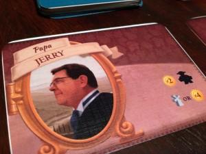 Tuscany Papa Card