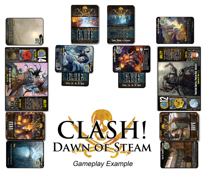 Clash! Dawn of Steam Game Play