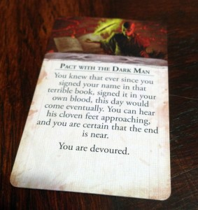 Eldritch Horror Condition Card