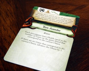 Eldritch Horror Mythos Card