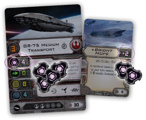 X-Wing Energy Cards