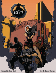 The Agents Box Cover