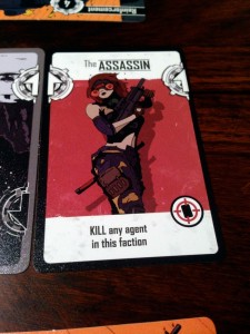 The Agents Assassin Card