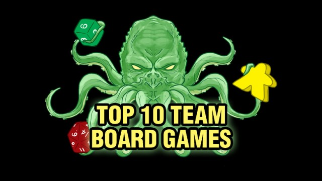 Top Ten Team Board Games