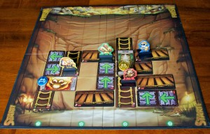 Jungle Ascent Game Board