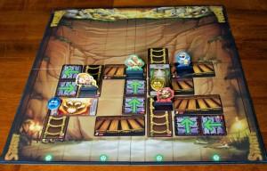 Jungle Ascent Game Board