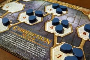 Scoundrels of Skullport Corruption Track