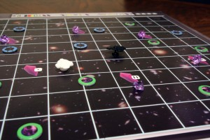 Space Cadets: Dice Duel Game Board