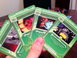 Galactic Strike Force Hand of Cards