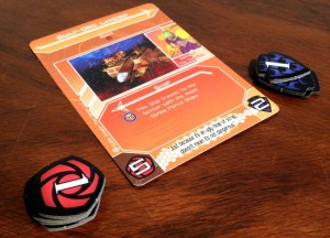 Galactic Strike Force Station Card Backs