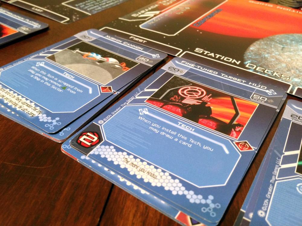Galactic Strike Force Station Decks