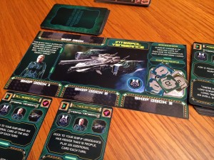 Last Starfleet Ship Card