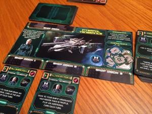 Last Starfleet Ship Card