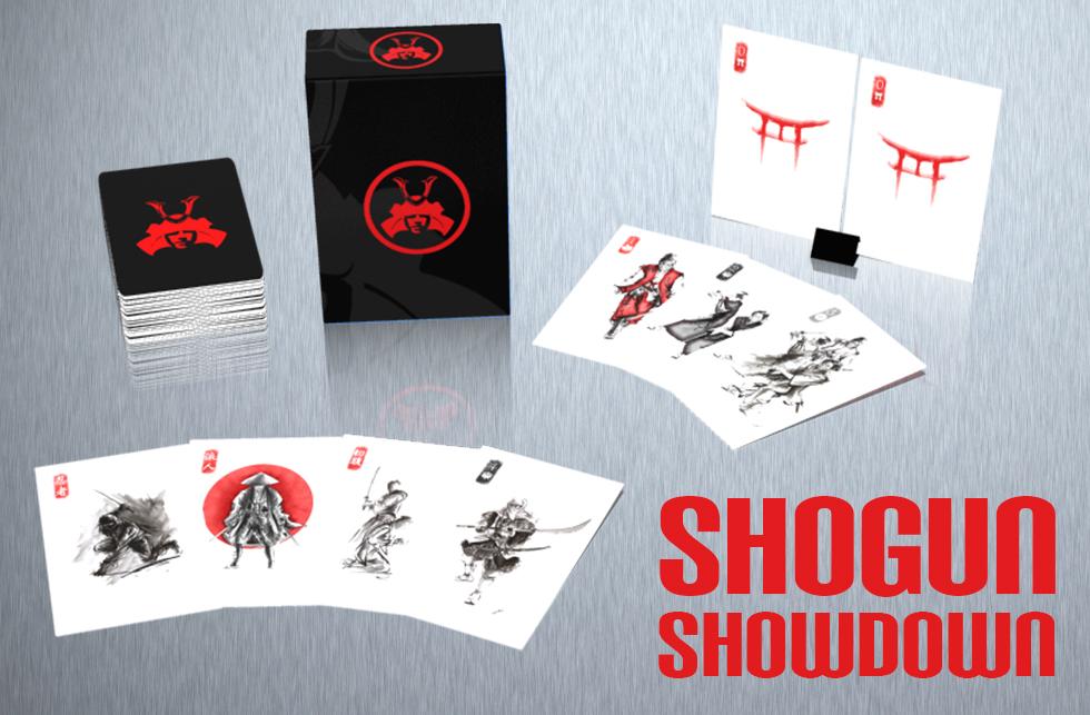 shogun showdown key card