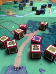 Cube Quest Game Board