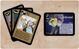 Gothic Doctor Cards