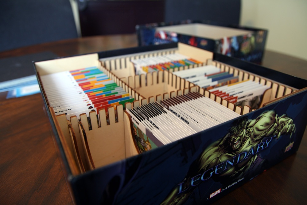 Legendary Deck Building Box Organizer