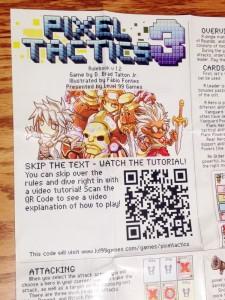 Pixel Tactics 3 Rules