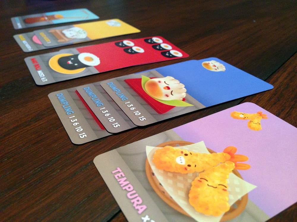 Sushi Go Game Experience