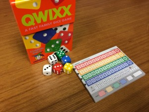 Quixx Game Components