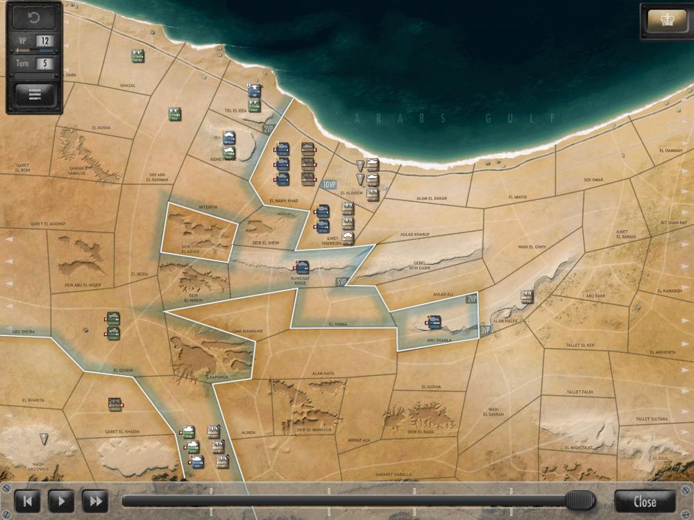 Desert Fox Map