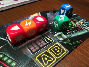 Space Cadets Dice Duel Die Fighter Pulse Bomb