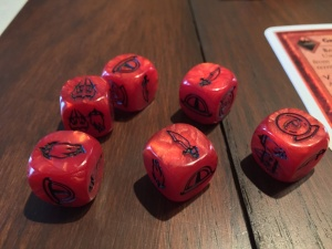 Battle of Five Armies Action Dice
