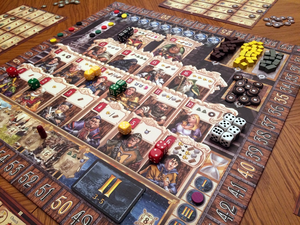 Kingsburg Review Board Game Quest