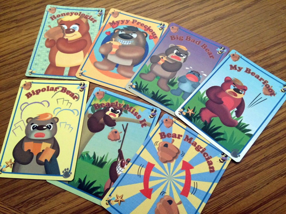 Hunny Hunters Function Cards