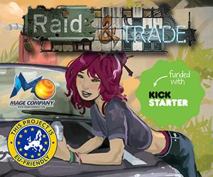 Raid and Trade Kickstarter