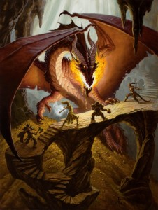 Dungeons and Dragons Dragon