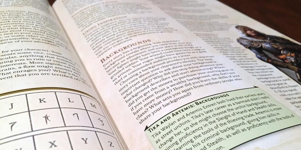 Player's Handbook Header